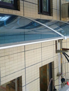 Aluminum Frame Awning Sunshades for Garden/Greenhouse pictures & photos