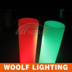 Outdoor Luxury LED Plastic Pillars for Decoration pictures & photos
