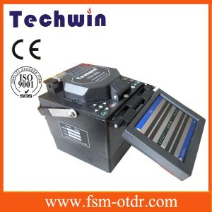 Techwin Fiber Optic Cable Splicer Equal to Fujikura Fusion Splicer pictures & photos