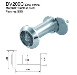 Brass or Zinc Alloy Peephole Door Viewer pictures & photos