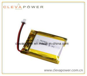 3.7V 500mAh Li-Polymer Battery with 500+ Cycles Life and Reliable Performance