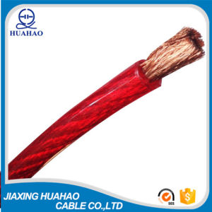 Red PVC Insulated CCA Conductor Car Power Cable pictures & photos