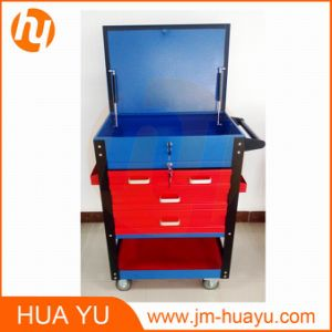 580lbs Loading Metal Movable 4 Lockable Drawers Tool Chest pictures & photos