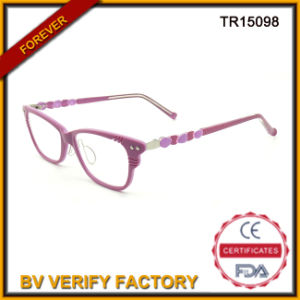 Good Looking Fashion Adult Tr90 Optic Glasses in Pink Color pictures & photos