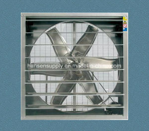 380-50Hz-3phase Textile Fibre Factory Wall Mounted Exhaust Fan pictures & photos