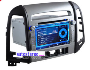 Car GPS for Hyundai Santa Fe Radio with DVD Blurtooth USB iPod USB