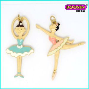 Guangzhou Factory Hot Sale Fancy Gold Girl Charm Jewelry pictures & photos