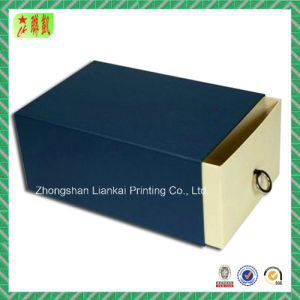 Custom Packing Drawer Paper Box (Logo Design) pictures & photos