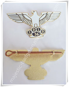 Zinc Die Cast Soft Enamel & Gold Plating Lapel Pin pictures & photos