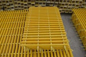 Fiberglass Pultruded Grating, Fiberglass Pultrusion Profile pictures & photos