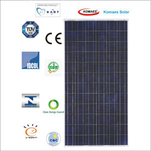 25W Polycrystalline Solar Panel PV Module with TUV Certificate pictures & photos