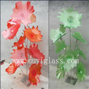 Tree Murano Glass Paltter Sculpture for Home Decoration