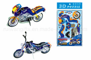 Wholesale Motorbike 3D Paper Puzzle for Kids Puzzle Games pictures & photos