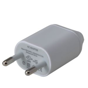 Real 1AMP Us/EU USB Portable Home Travel Wall Charger pictures & photos