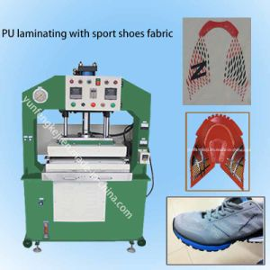 Fabric Sport Running Shoes Suface Vamp Upper Heat Hot Pressing Machine