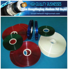 Red Double Side Metallized Pet Film Tape for Cable pictures & photos