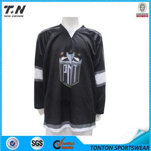 Hot Custom Design Skull Logo Fashion Ice Hockey Jersey