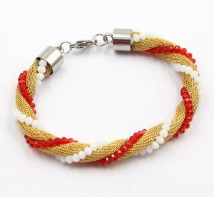 Fashion Mesh Stainless Steel Bracelet Jewelry for Girls pictures & photos