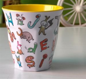 in Mould Label for Beautiful Plastic Cup pictures & photos