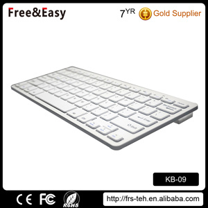 Mini Multimedia 78 Keys Bluetooth 3.0 Keyboard pictures & photos