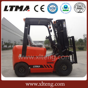 Ltma New Forklift 1.5 Ton Diesel Forklift for Sale pictures & photos
