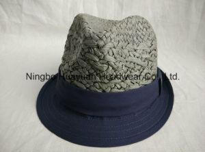 Kids Hand Woven Fefora Straw Hat