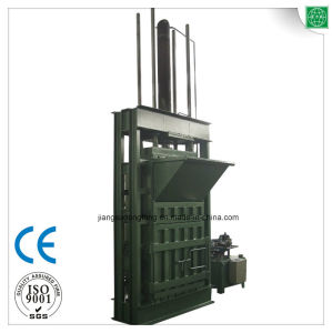 Used Clothes and Textile Compress Baler Machine pictures & photos