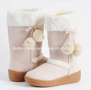 Latest Injection Boots High-Cut Comfortable Snow Boots Winter Boots Stock Shoes (FF328-3) pictures & photos