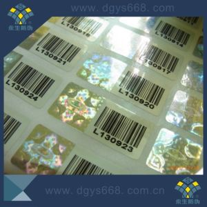 Hologram Security 3D Dynamic Sticker with Barcode Printing pictures & photos