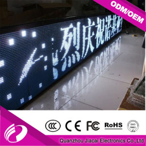 White Color Outdoor Text GPRS WiFi LED Name Message Panel Board pictures & photos