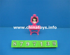 2016 Latest Cheap Promotional Gift Girl Plastic Toy (8797139) pictures & photos