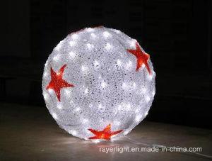 LED 25cm Ball Light Christmas Market Decoration pictures & photos