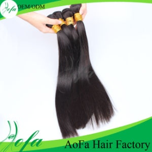 Top Quality Weavon Brazilian Straight Hair Remy Virgin Human Hair pictures & photos