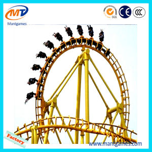Outdoor Fairground Kids Amusement Cheap Roller Coaster for Sale/Amusement Park Equipment Roller Coaster pictures & photos