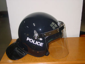 Police/Military Anti-Riot Helmets with Visor pictures & photos