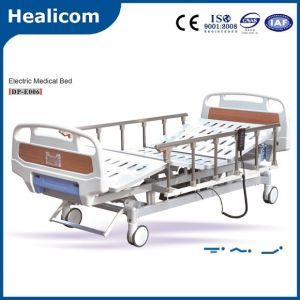 Dp-E006 Hot Sale Three Function Electric Medical Hospital Bed pictures & photos