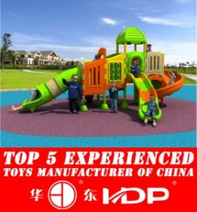 Newest 2016 Whloe Plastic Playground, Outdoor, Indoor Playground, Safe Playground HD16-157c pictures & photos