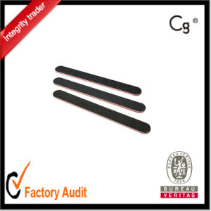 Wholesale Black Straight Nail File pictures & photos