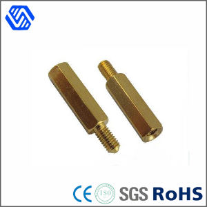 Special Brass Bolt Brass Metal Round Pin Screw Nut Bolt pictures & photos