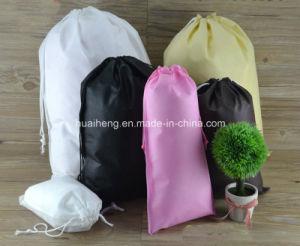 Custom Logo Printing Eco Bag Non Woven Drawstring Bag 300 pictures & photos