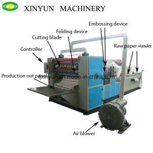 6 Lines High Quality V Fold Facial Tissue Paper Folding Machine pictures & photos