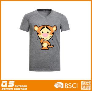 Men′s Melange Print Fashion Quick Dry T-Shirt pictures & photos