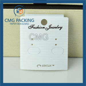 Customized White PVC Earring Display Card (CMG-071) pictures & photos