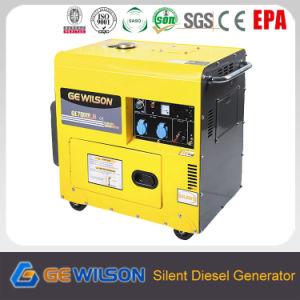 CE 4-Stroke/ Silent Diesel Generador Set pictures & photos