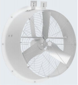 "Poly Fan 36"" Fiberglass Housing Re-Circulation Fan for Swine Use pictures & photos"