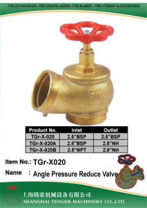 """Pressure Reduce Fire Hydrant Angle Valve: 2.5"""" NPT/2.5""""Bsp pictures & photos"""