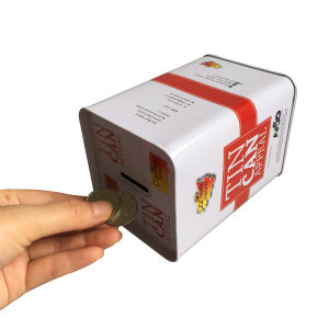 European Welcomed Metal Coin Box for Money Packaging Box pictures & photos