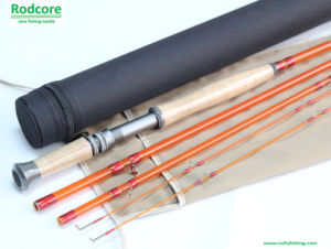 Yellow Yr11034-4 Classic Moderate Fiberglass Fly Rod pictures & photos