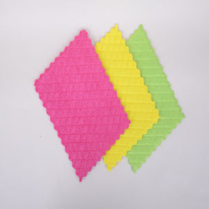 Design of Hollow out Border, Custom, Microfiber Glasses Cleaning Cloth, Soft