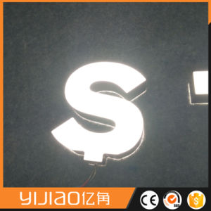 Yijiao Acrylic Double Sided LED Letters pictures & photos